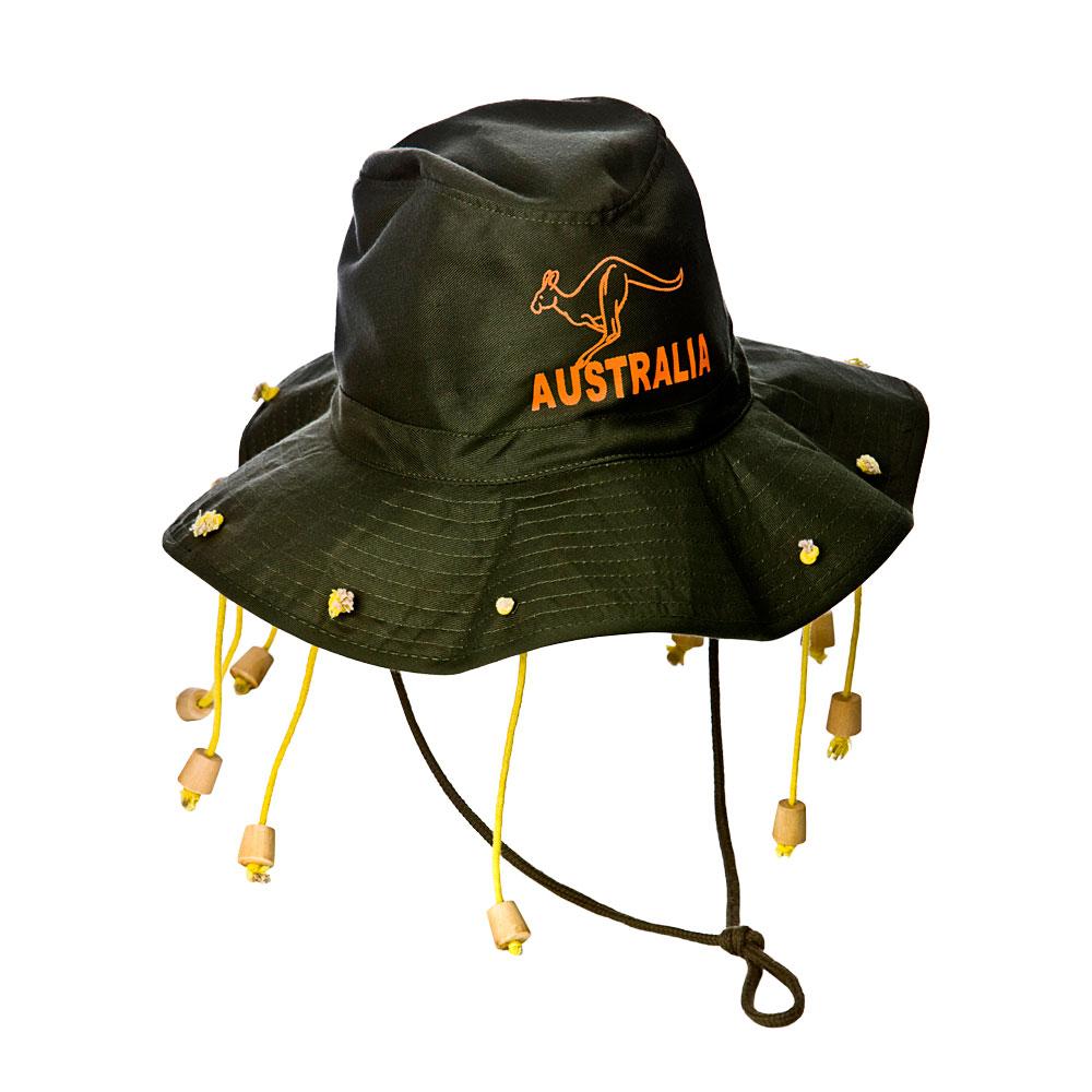 Chapeau Australien (no Tangle Emballage) Australian National Fancy Dress Cosplay-afficher Le Titre D'origine