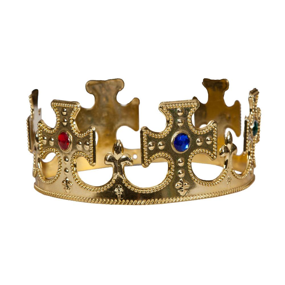 Agressif Roi/reine Couronne Chapeau Moyen Age Royal Souverain De Conte De Fées Déguisement Cosplay-afficher Le Titre D'origine Doux Et Doux