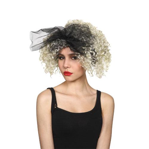 80s Material Girl Parrucca Pop 80s Nuovo Romantico Costume Cosplay- Le Materie Prime Sono Disponibili Senza Restrizioni