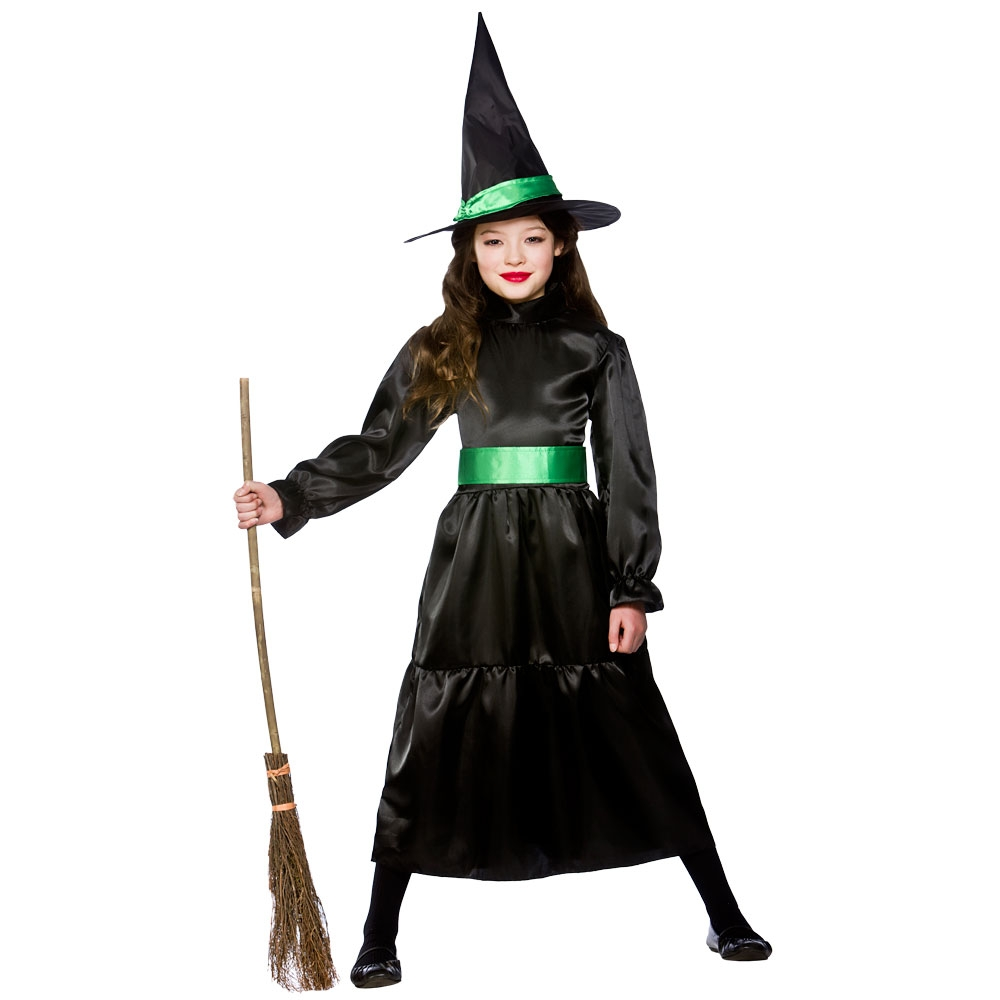 childrens girls wicked witch costume halloween wicked villian fancy