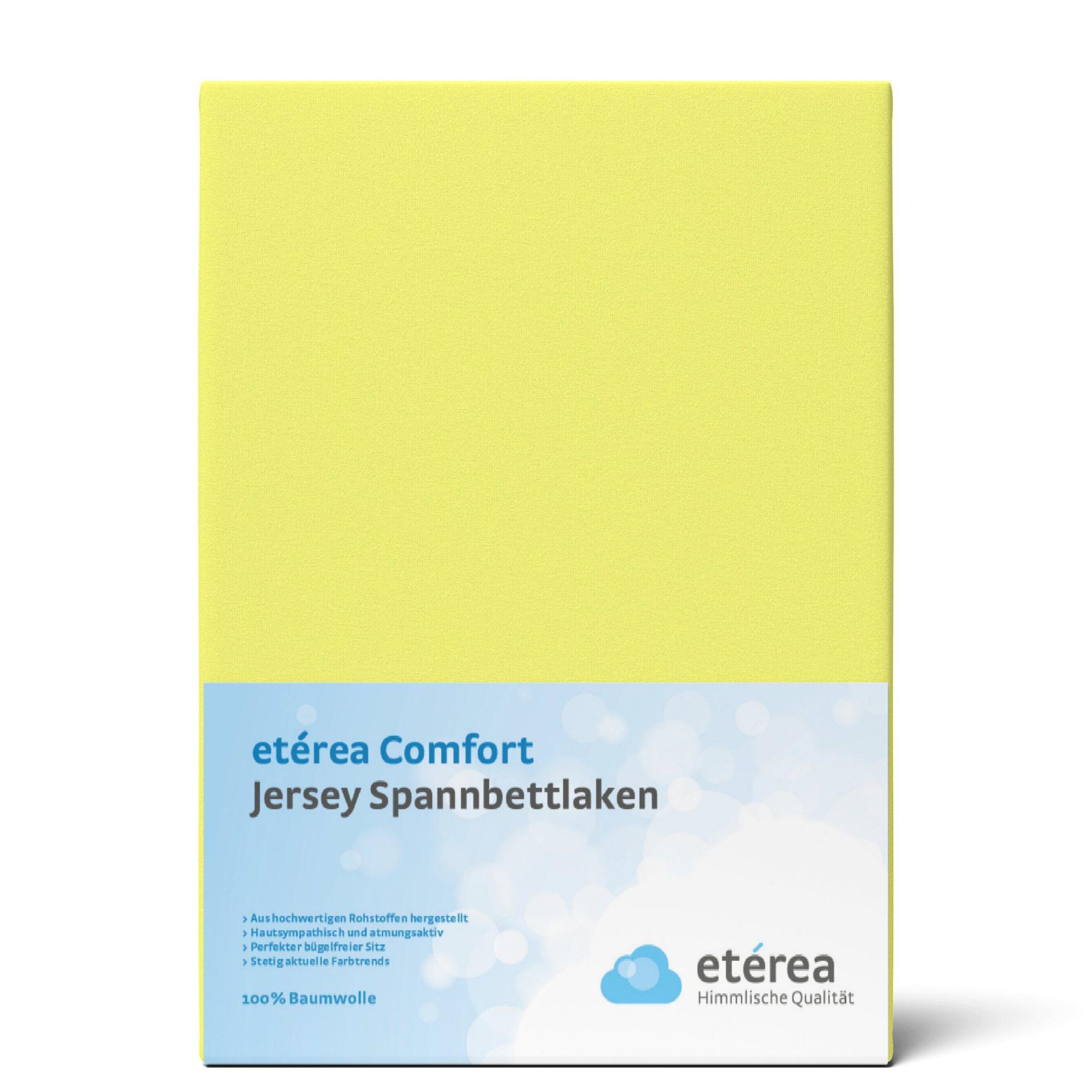 Indexbild 45 - Spannbettlaken etérea Jersey Spannbetttuch 90x200 140x200 180x200 100% Baumwolle