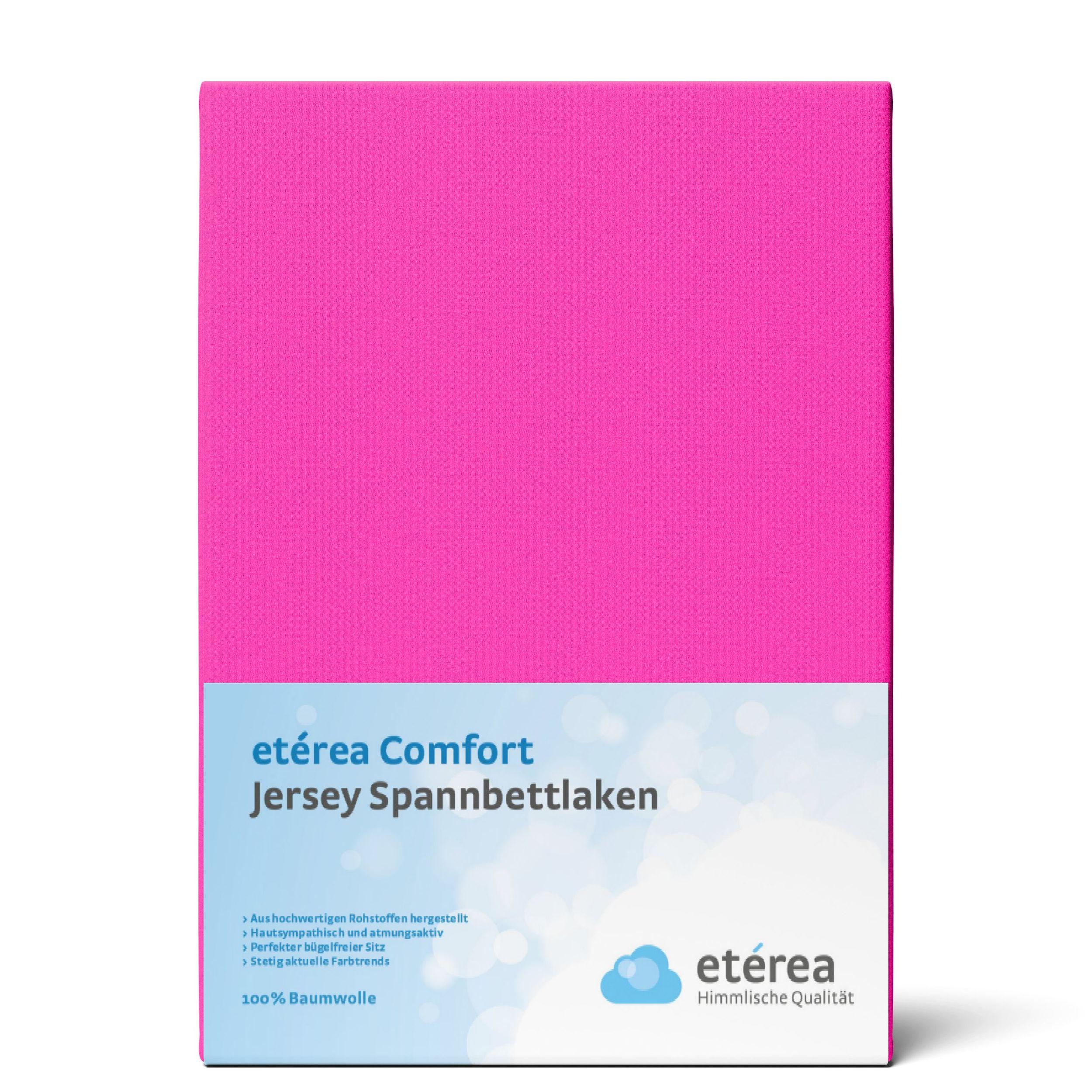 Indexbild 135 - Spannbettlaken etérea Jersey Spannbetttuch 90x200 140x200 180x200 100% Baumwolle