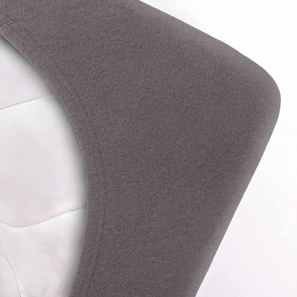 Indexbild 5 - etérea Topper Spannbettlaken Jersey Spannbetttuch Boxspringbett 100% Baumwolle