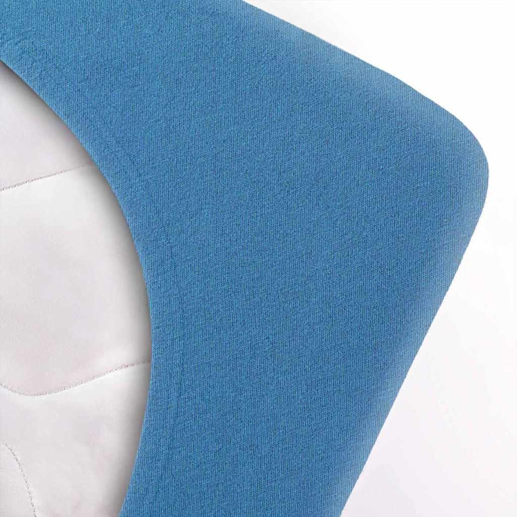 Indexbild 35 - etérea Topper Spannbettlaken Jersey Spannbetttuch Boxspringbett 100% Baumwolle