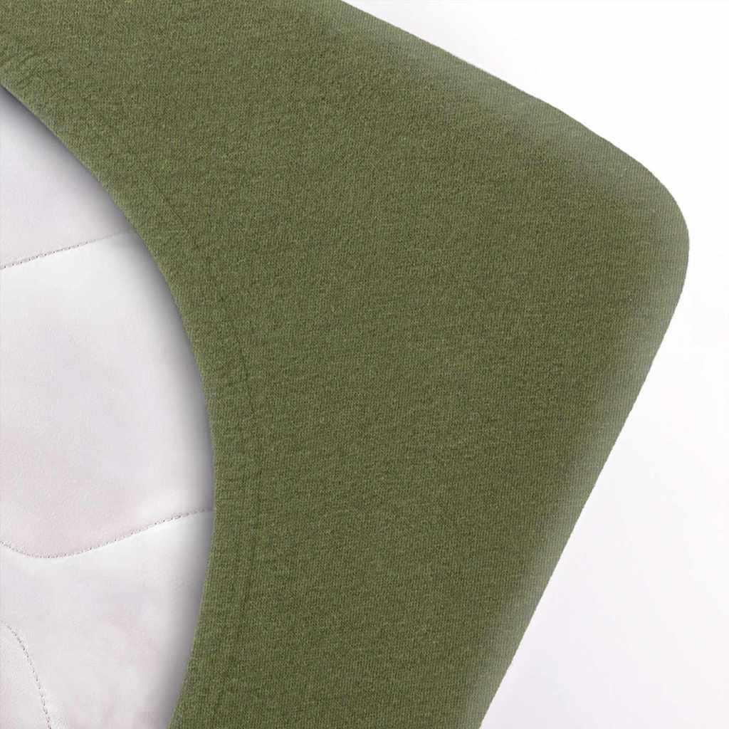 Indexbild 83 - etérea Topper Spannbettlaken Jersey Spannbetttuch Boxspringbett 100% Baumwolle