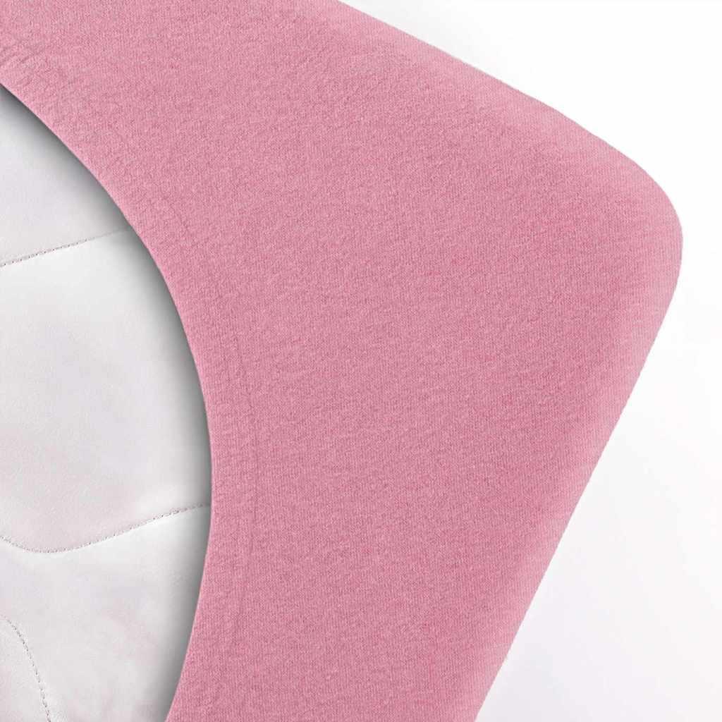 Indexbild 142 - Spannbettlaken etérea Jersey Spannbetttuch 90x200 140x200 180x200 100% Baumwolle