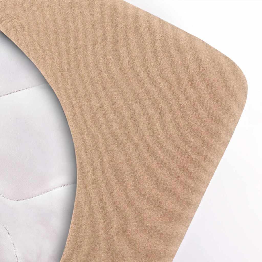 Indexbild 155 - etérea Topper Spannbettlaken Jersey Spannbetttuch Boxspringbett 100% Baumwolle