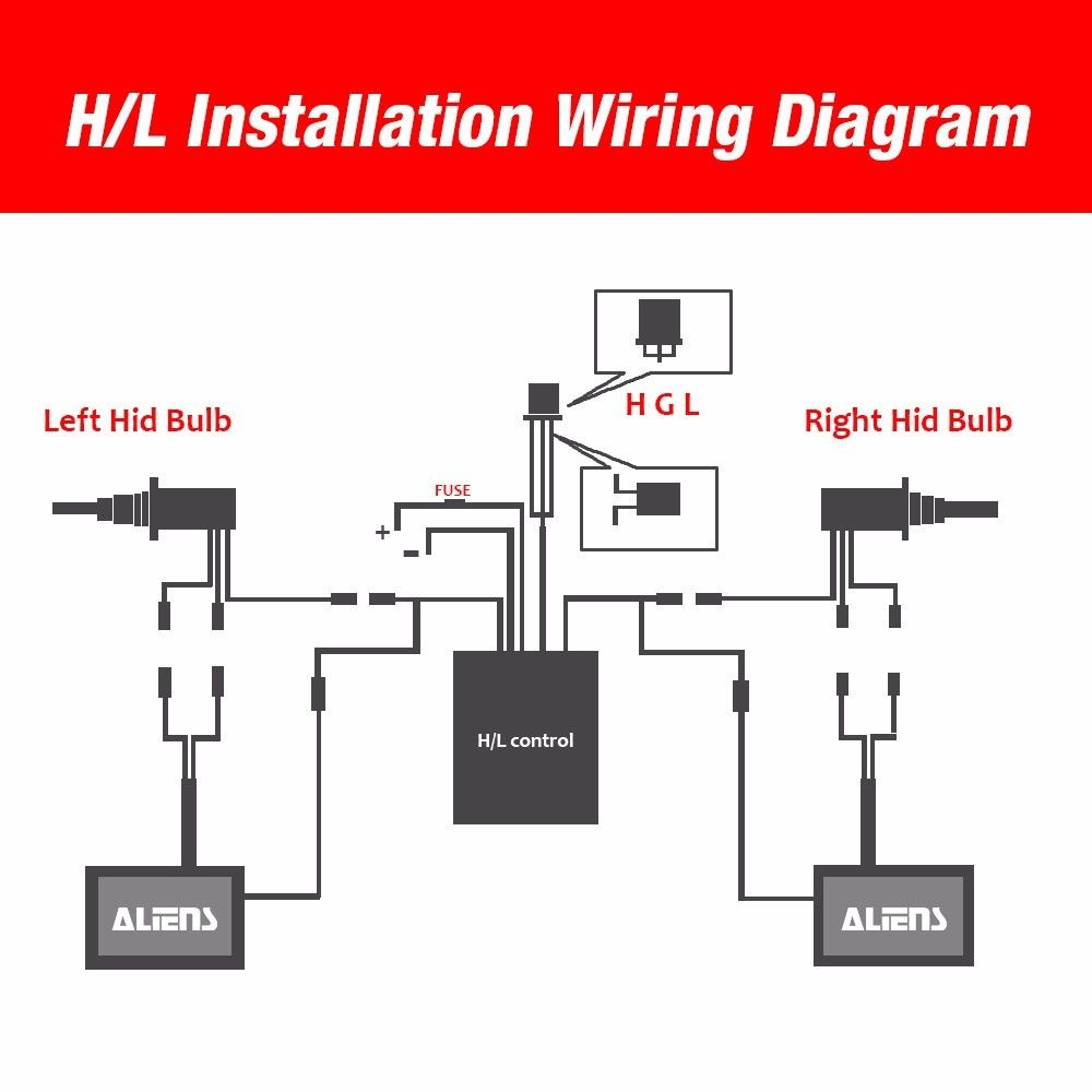 H13 Wiring Diagram - Technical Diagrams on