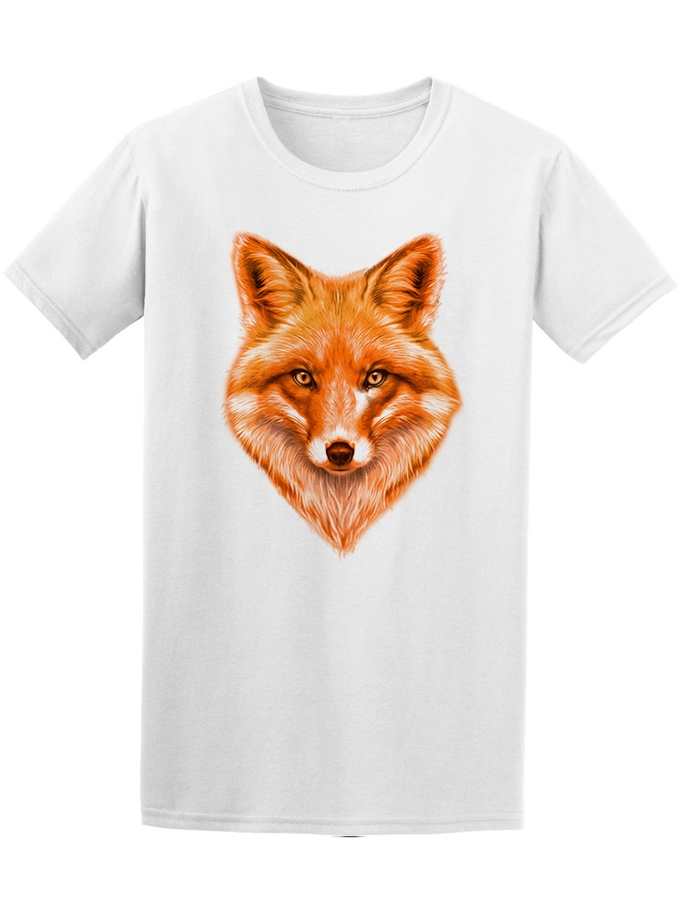 Red Fox Drawing Tee Men's -Image by Shutterstock