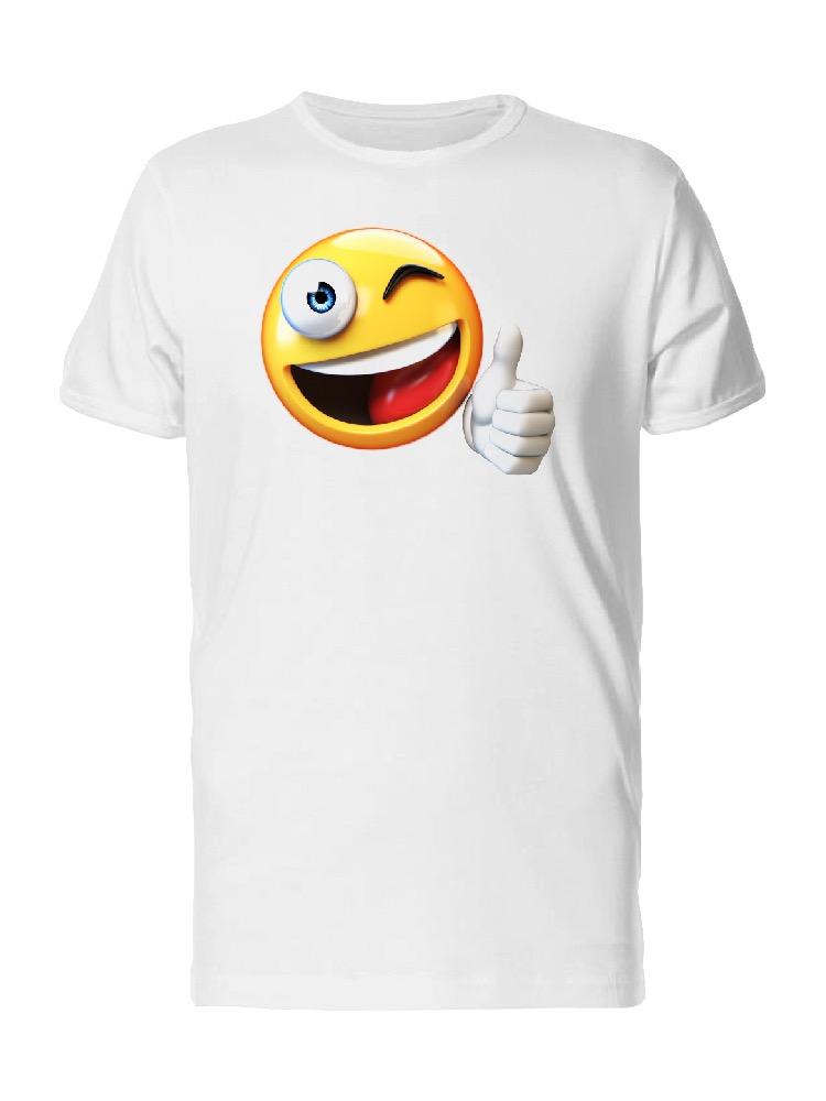 2 Thumbs Up Emoticon on sweatshirt Custom Happy Happy