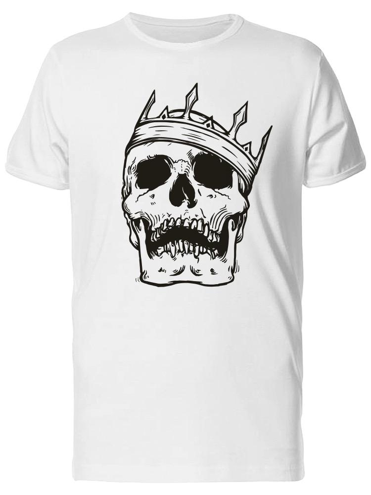 Grunge-King-Skull-Men-039-s-Tee-Image-by-Shutterstock