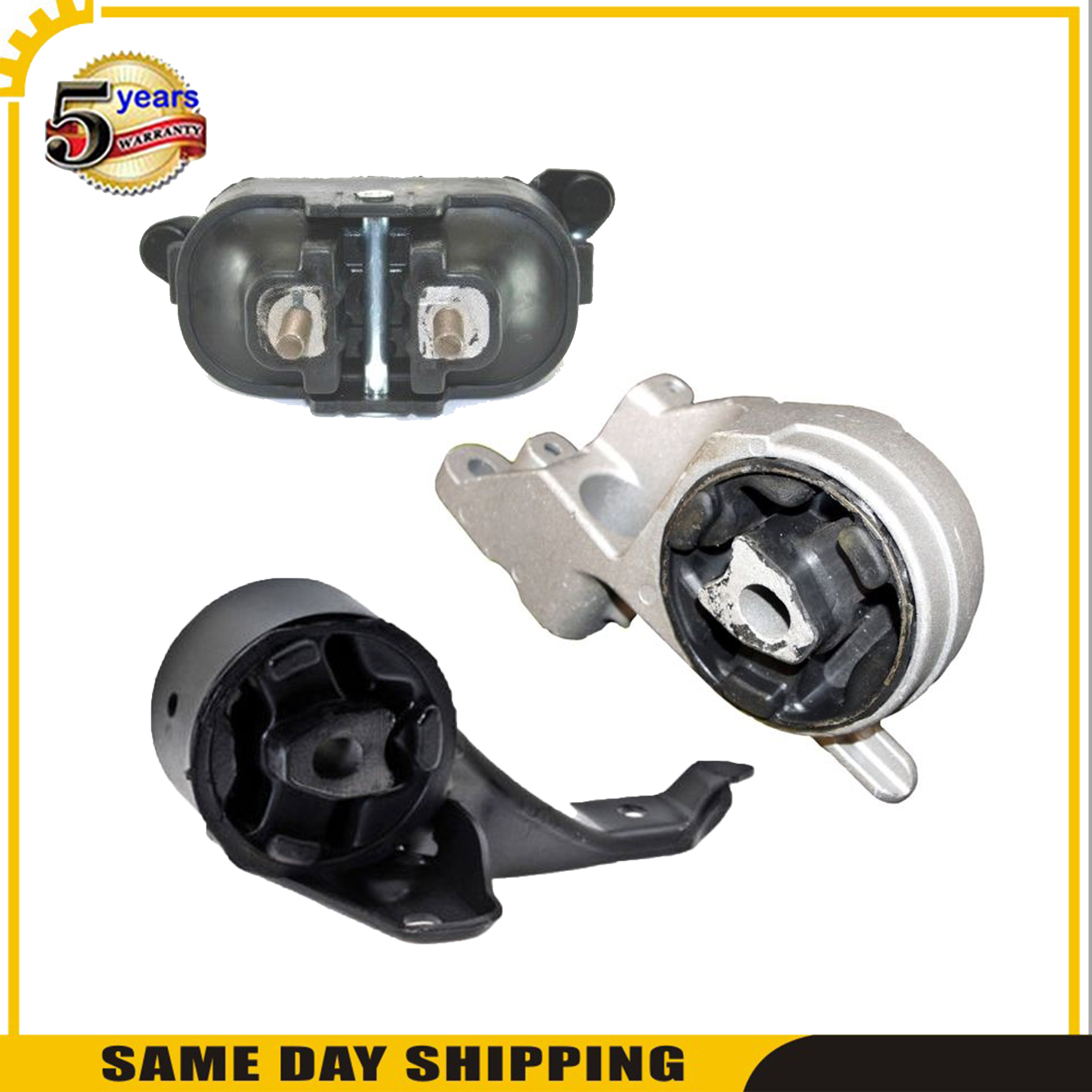 For Pontiac G6 3.5L 05-06 New 5354 5357 5355 Engine Motor /& Trans Mount Set 3pcs