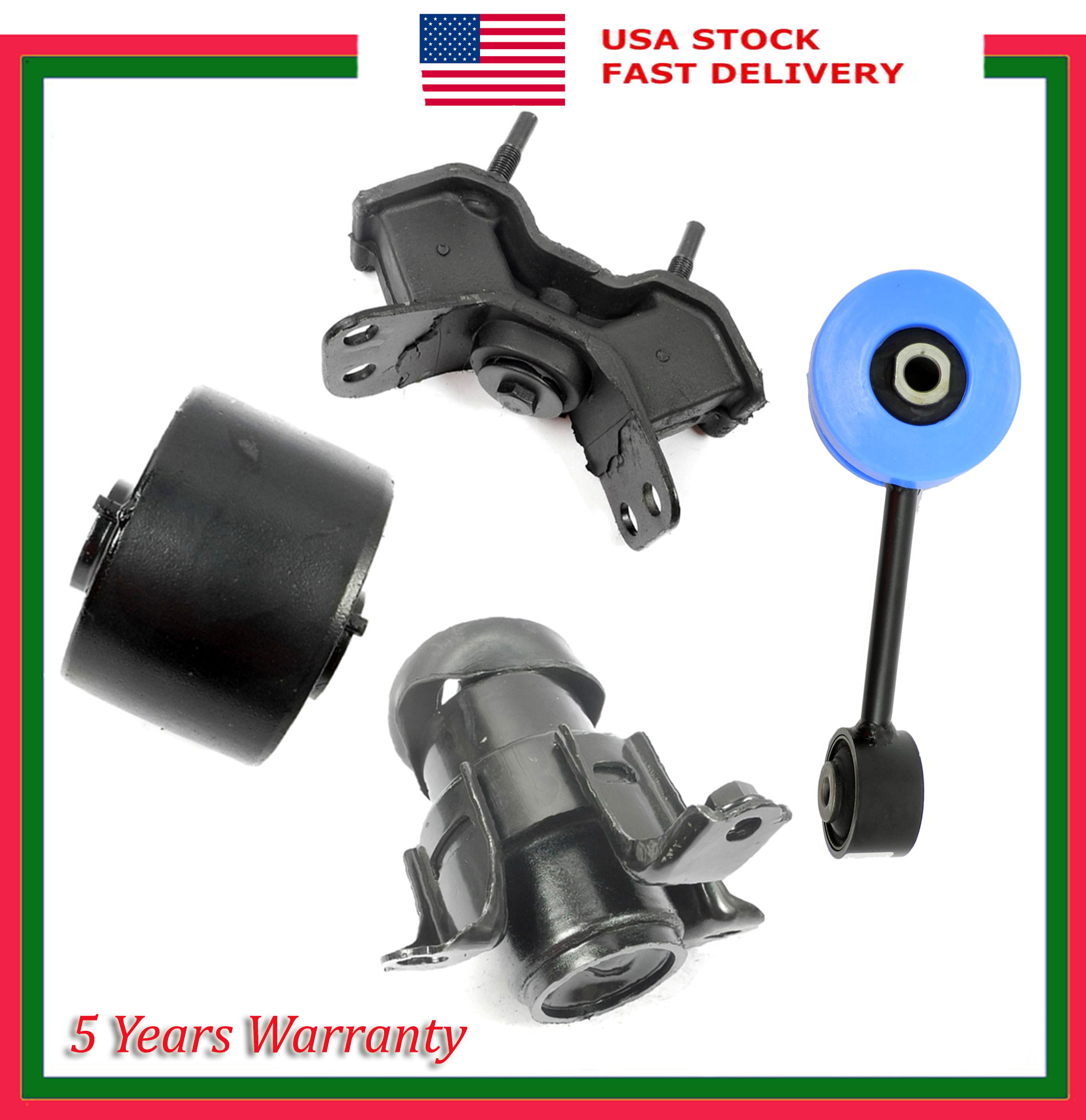 Engine Motor /& Trans Mount For Toyota Avalon Camry Solara 3.0L 7261 7242 6257