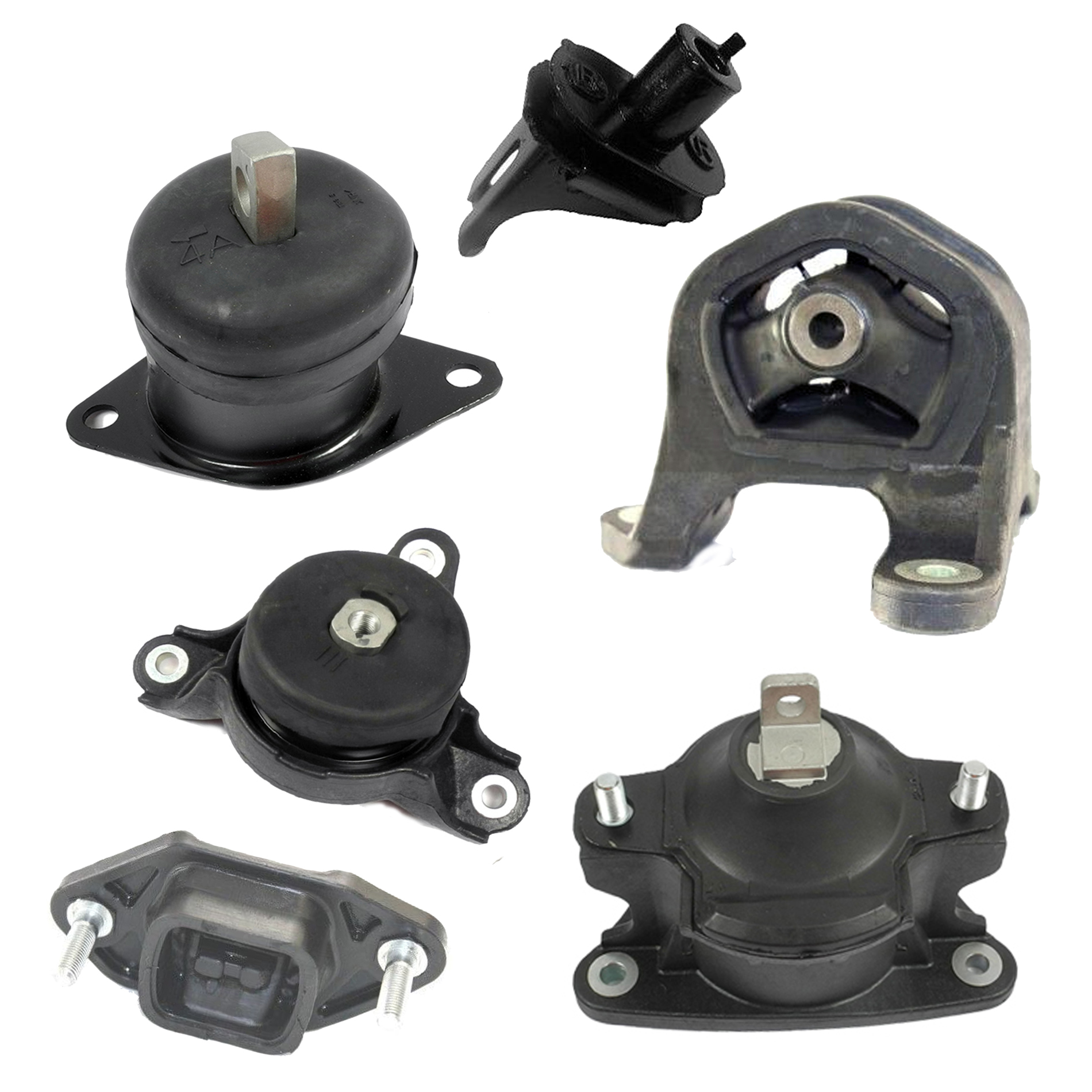 For 06-08 Acura TSX Base Sedan FWD 2.4L Engine Motor /& Trans Mount Set 4PCs