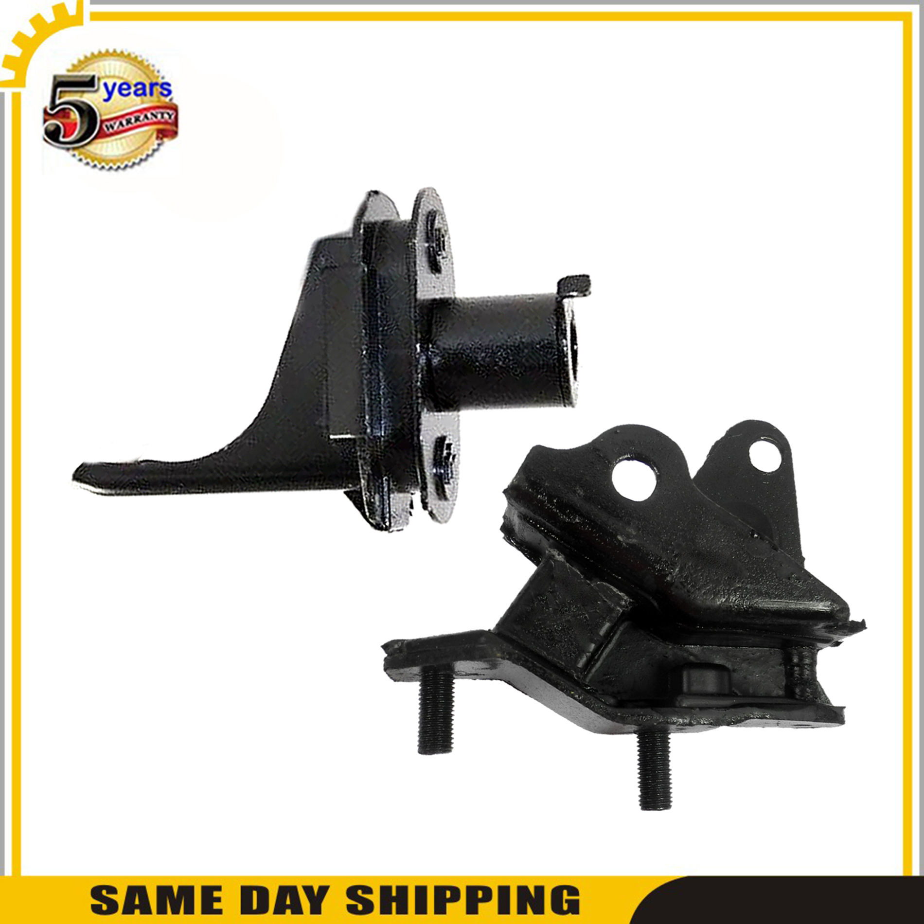 For Honda Accord LX-S Coupe FWD 2.4L Engine Motor /& Trans Mount New Set of 2PCs