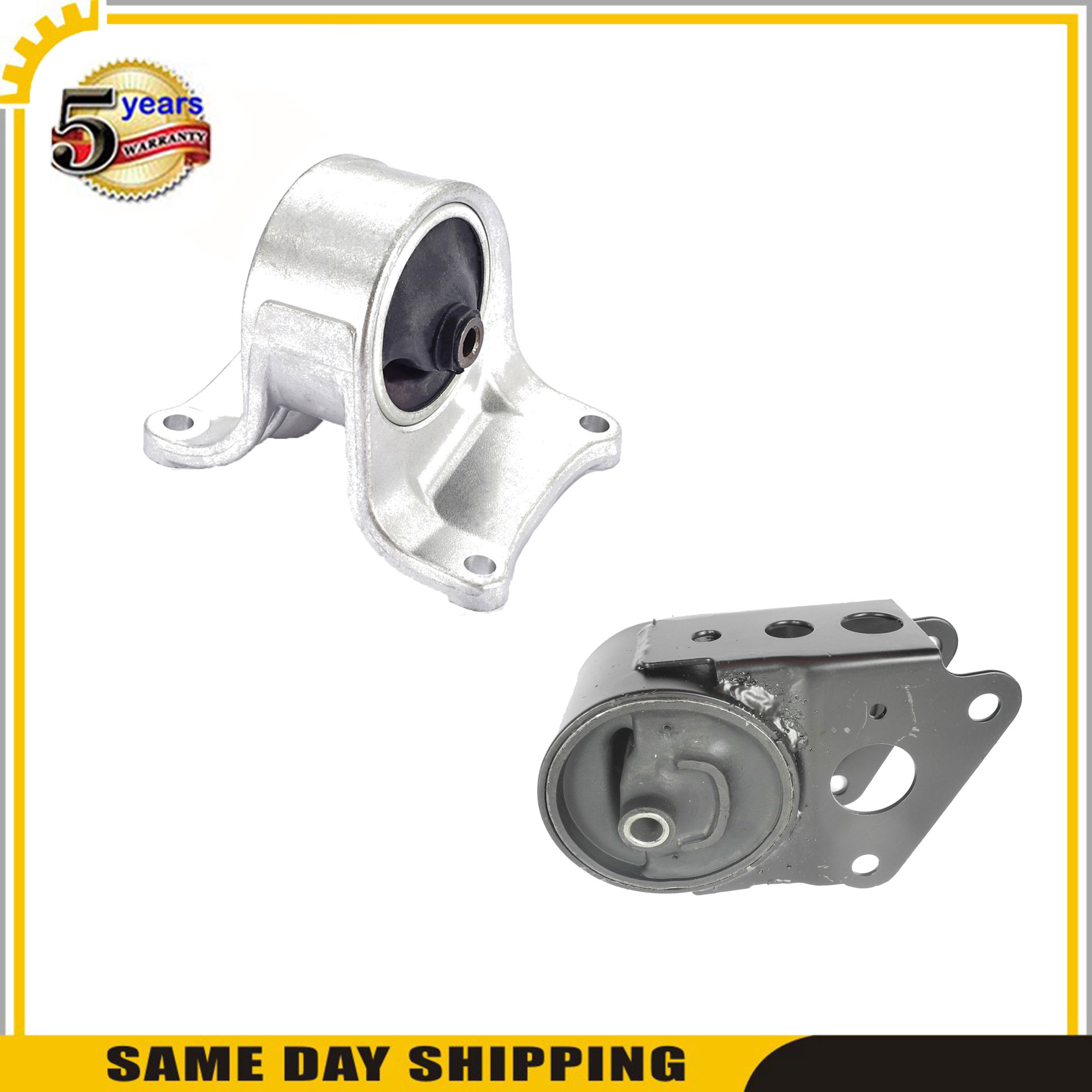 3PCS Engine Motor /& Transmission Mount For Nissan Altima SL Sedan FWD M3249