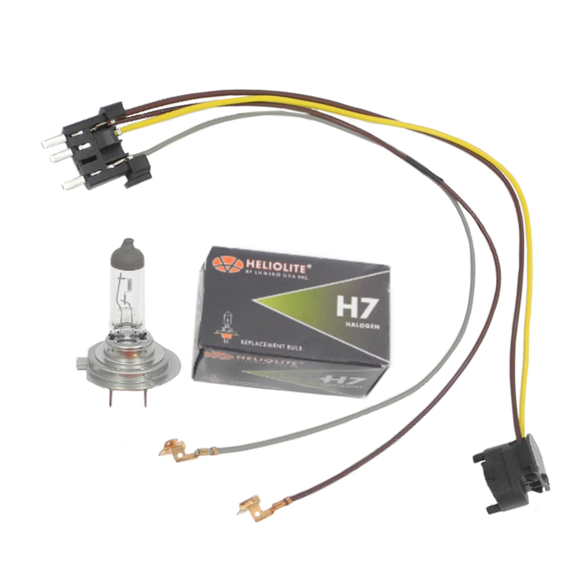 Fine Left Right Headlight Wiring Harness H7 55W Headlight Bulb For Wiring Digital Resources Anistprontobusorg