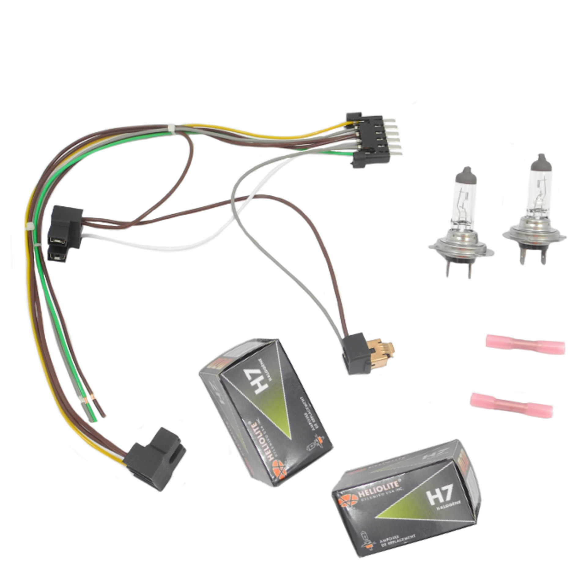 Pleasant H7 Headlight Wire Harness Basic Electronics Wiring Diagram Wiring Digital Resources Ommitdefiancerspsorg