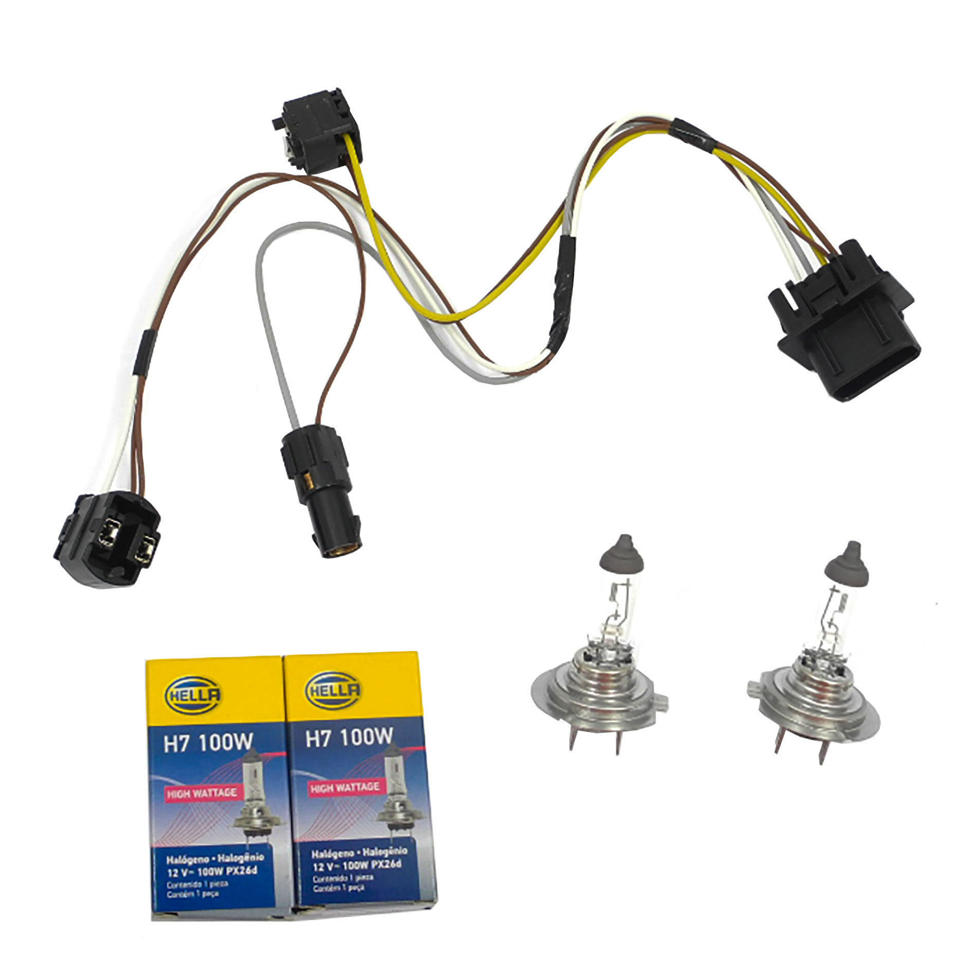 Marvelous For Benz E430 E500 E55 L R Headlight Wiring Harness And H7 100W Wiring Digital Resources Anistprontobusorg