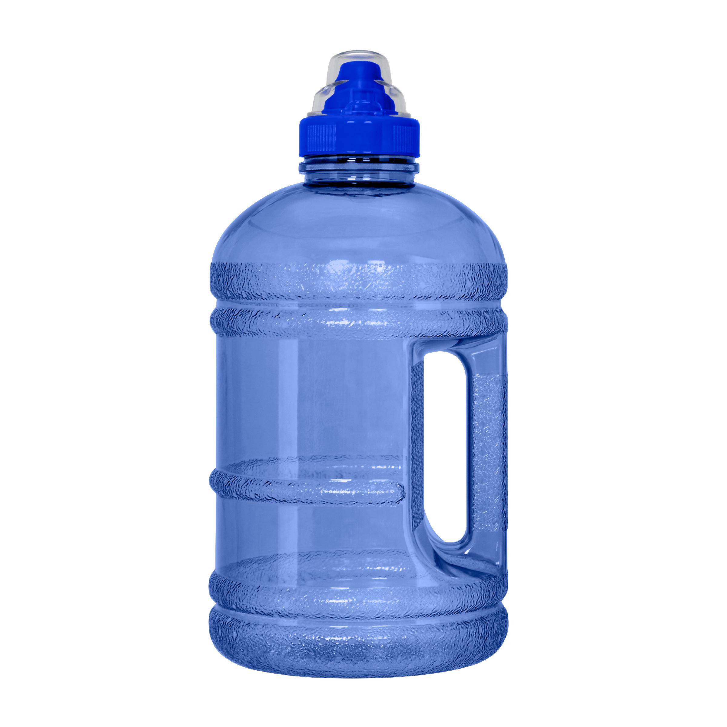 973b5f2d1e 1/2 Gallon (64 oz.) BPA FREE Plastic Water Bottle w/48mm Sports Cap ...