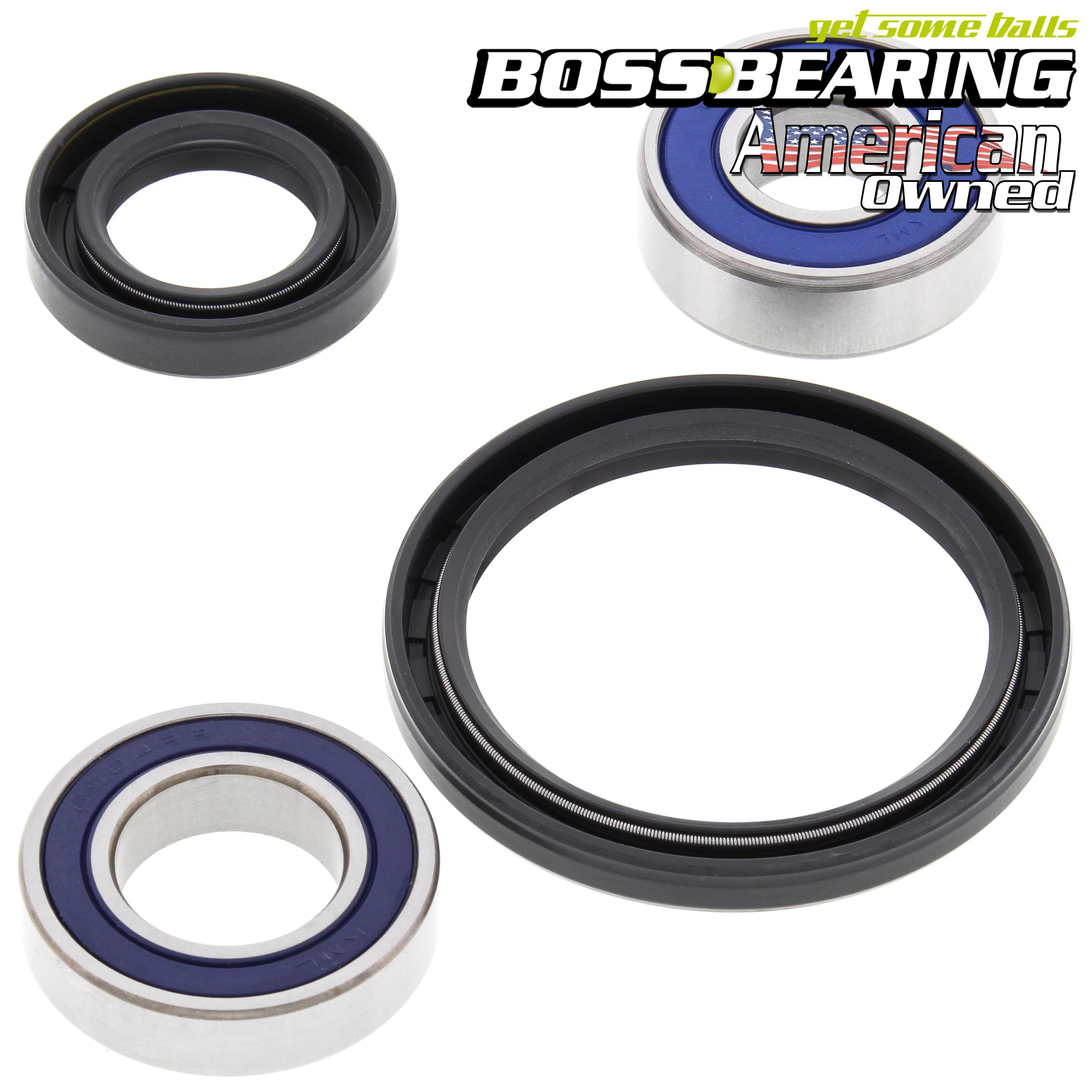 Both Front Wheel Bearing Seal Kits for 95-98 Yamaha YFB250 Timberwolf 250 2x4