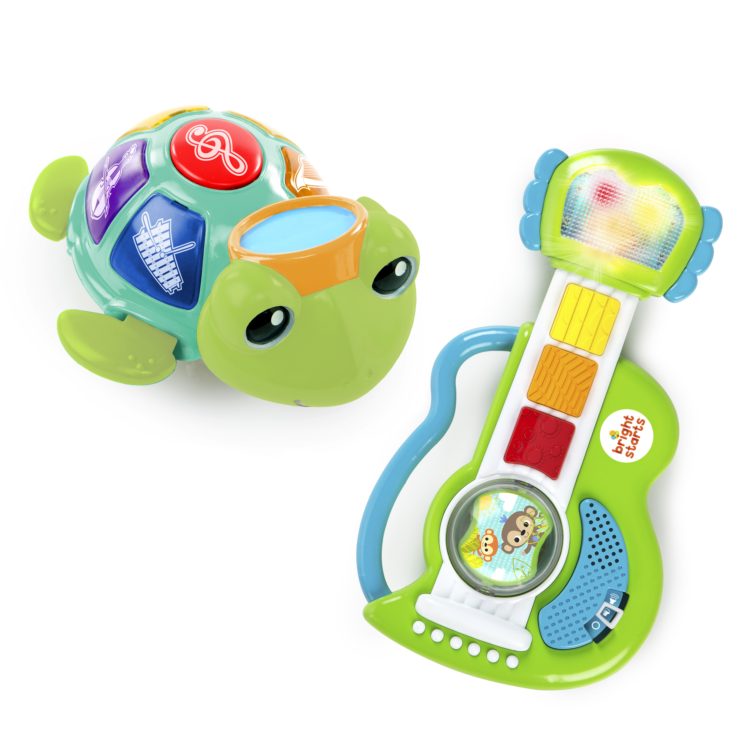 Details about Baby Einstein / Bright Starts Music On The Move Musical Toy  Bundle