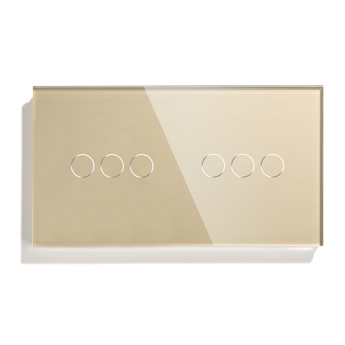 Bseed Wall Touch Switch 3 Gang 1 Way 2 Light Wiring For