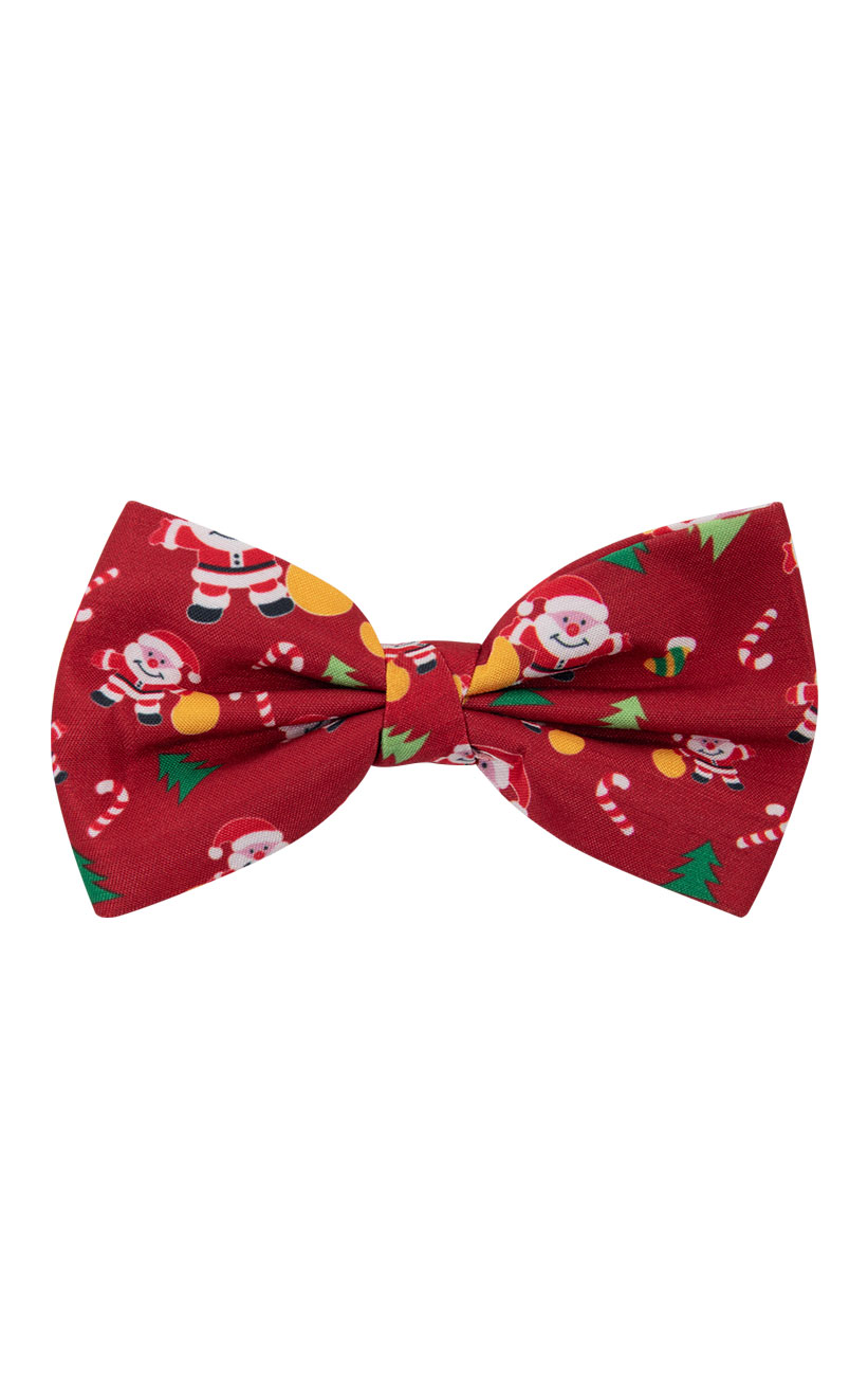 ee11db887ed4 Dobell 'Happy Santa Claus' Christmas Pre-Tied Bow Tie 5051913588197 ...