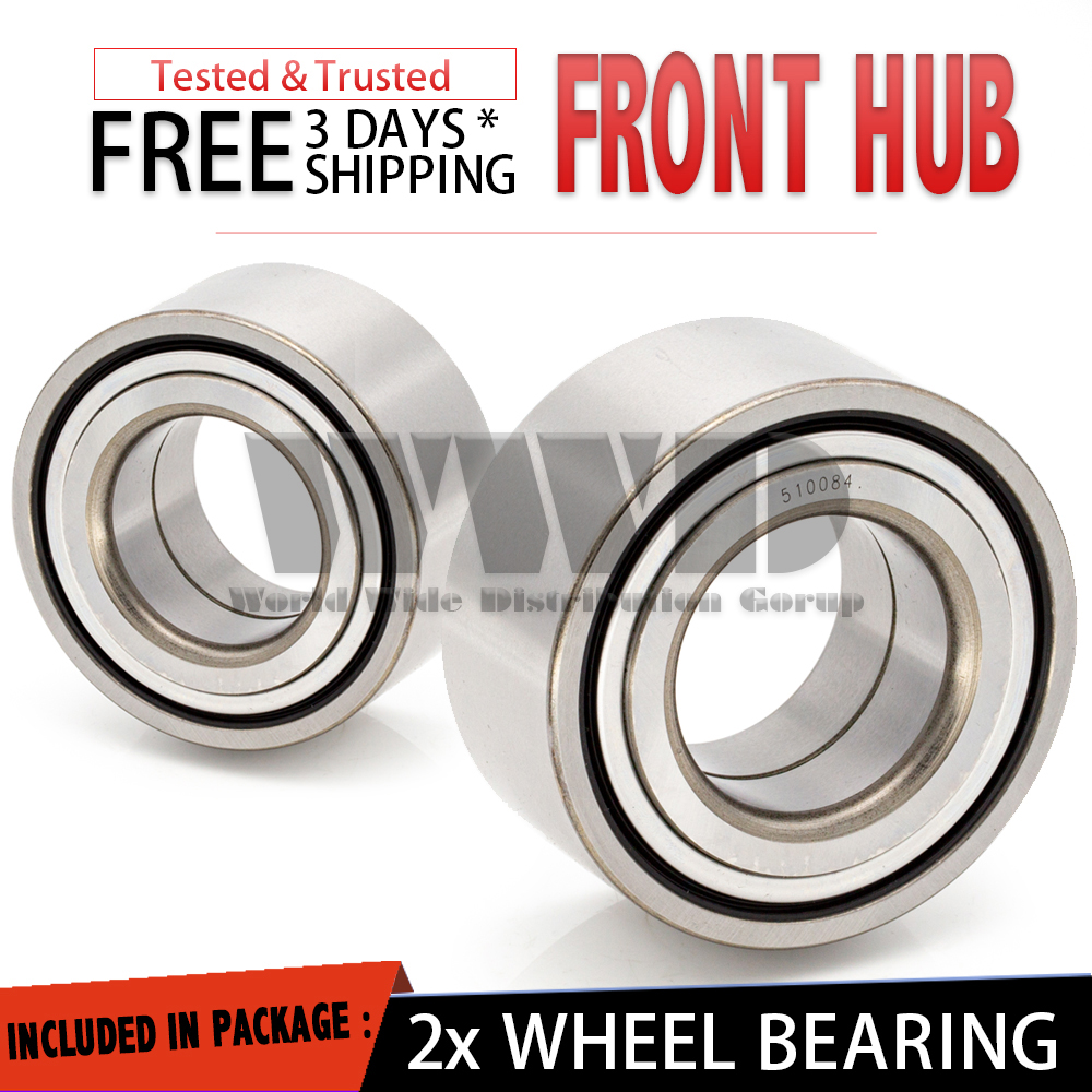 2008 2009 2010 2011 For Volvo XC70 Front Wheel Bearing and Hub Assembly x2