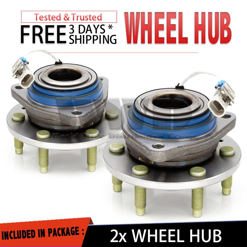 Awd Cadillac Cts: 2x 512243 Rear Wheel Hub Bearing For Cadillac CTS V STS [AWD] SRX V8 720462912580