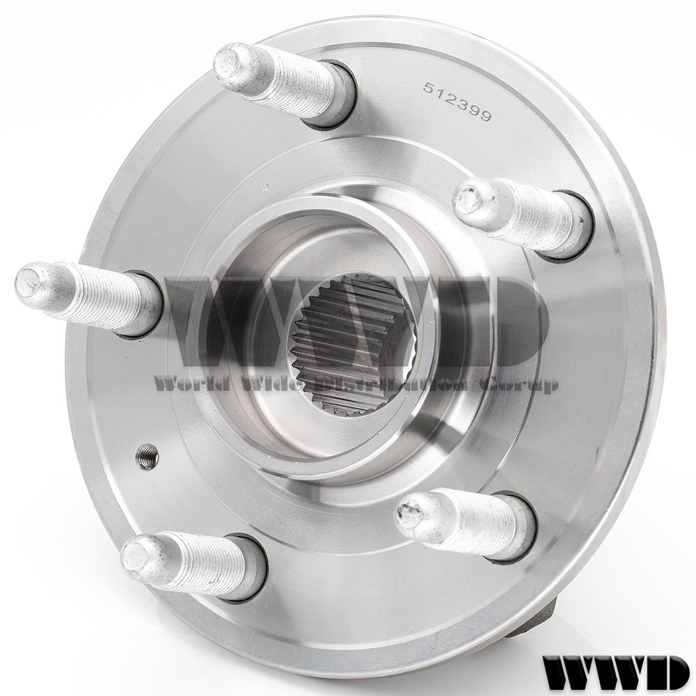 WWD 2x 512399 Rear Wheel Hub Bearing For 2010-16 Chevy Camaro SS LT LS Manual Trans