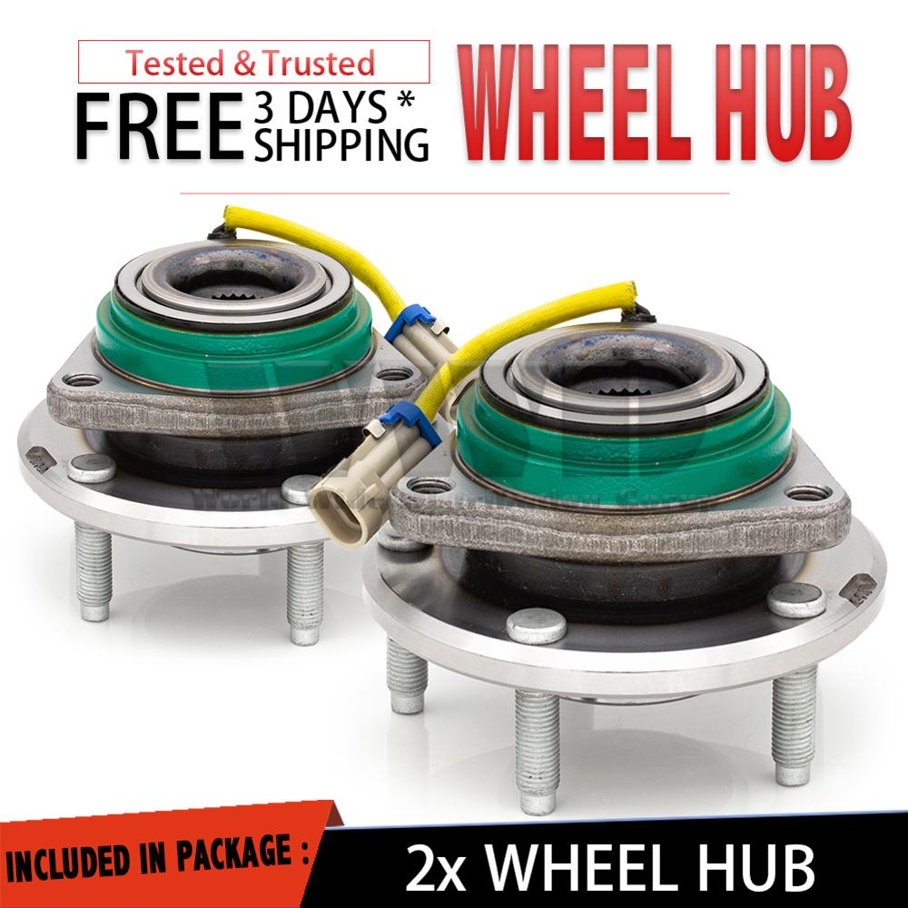 2x 512441 Rear Wheel Hub Bearing For 2008 Cadillac XLR