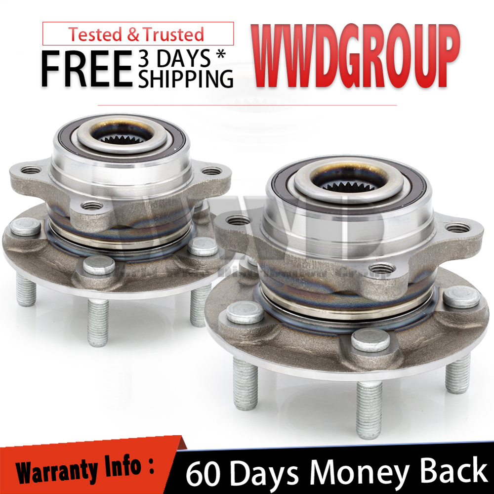 512498 Front//Rear Wheel Bearing Hub For AWD FORD FUSION 2013-2017 LINCOLN MKZ