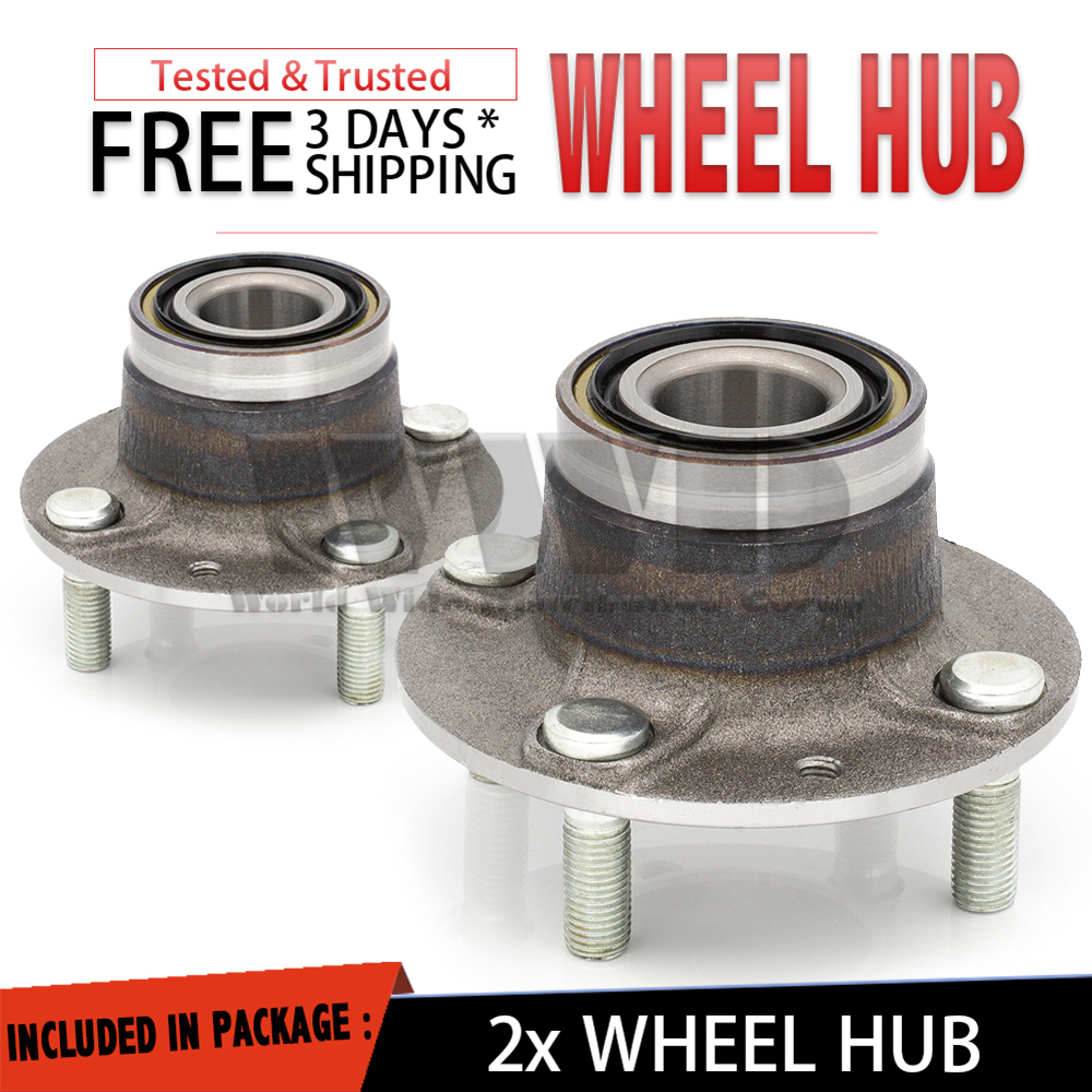 2x 513030 Rear Wheel Hub Bearing Left+Right For 1991-1999 MERCURY TRACER Pair
