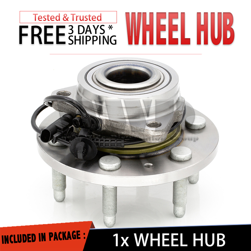 515096 FRONT Wheel Hub Bearing Units For 07-12 GMC YUKON XL1500 AWD w//ABS ONLY