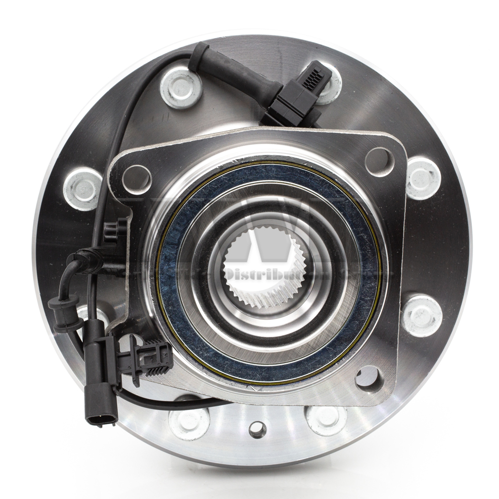 2x 515145 Front Hub Bearing For CHEVY 2011-2016 SILVERADO 2500HD 3500HD 4x4 4WD