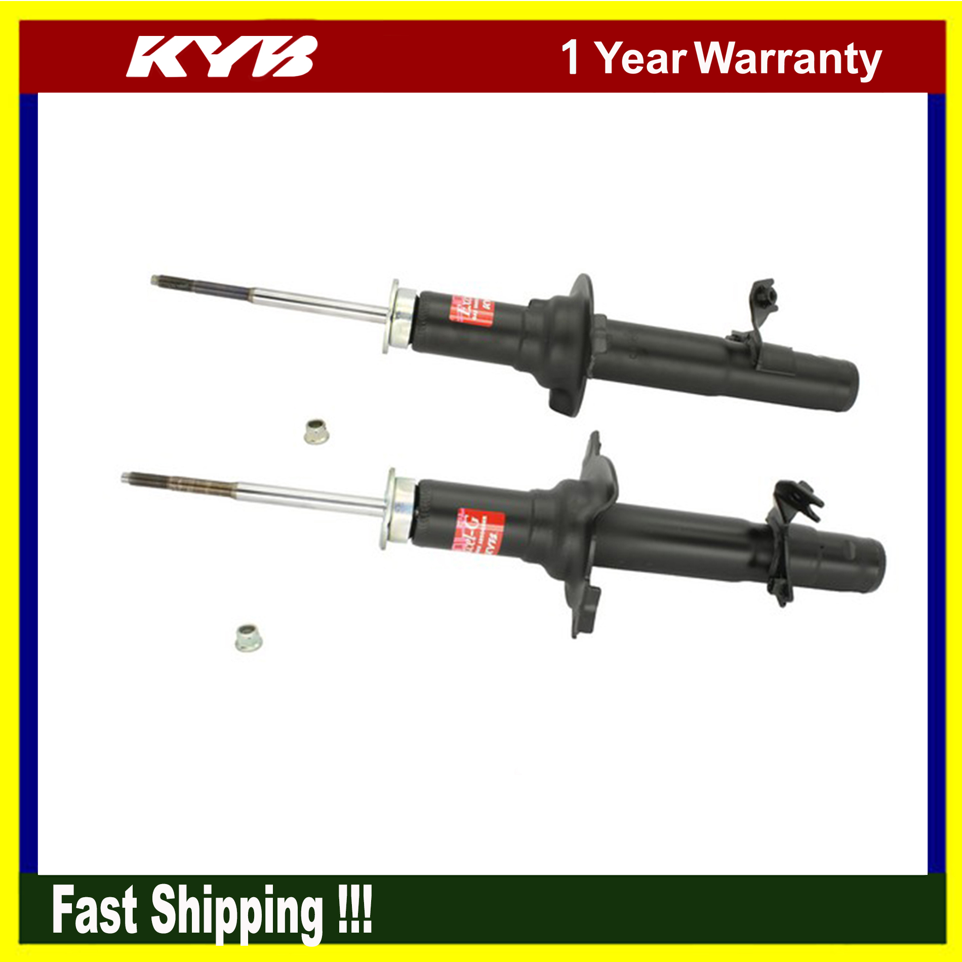 2PCs KYB Suspension Shock Struts Absorber Kits For 1996