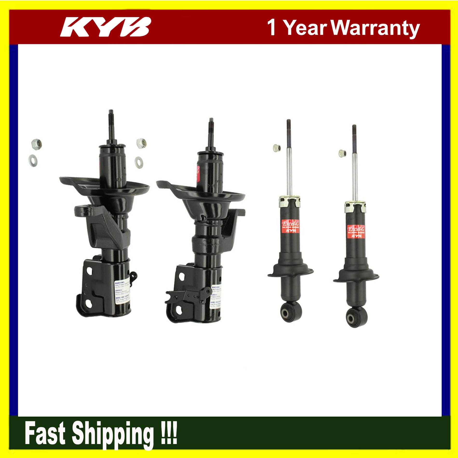 4PCs KYB Suspension Shock Struts Absorber Kits For 2003