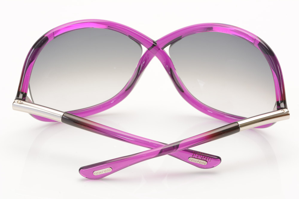 18e95c1fe140 Sunglasses   Sunglasses Accessories Tom Ford Whitney 75B violet purple  crisscross oversize frame sunglasses NEW  415