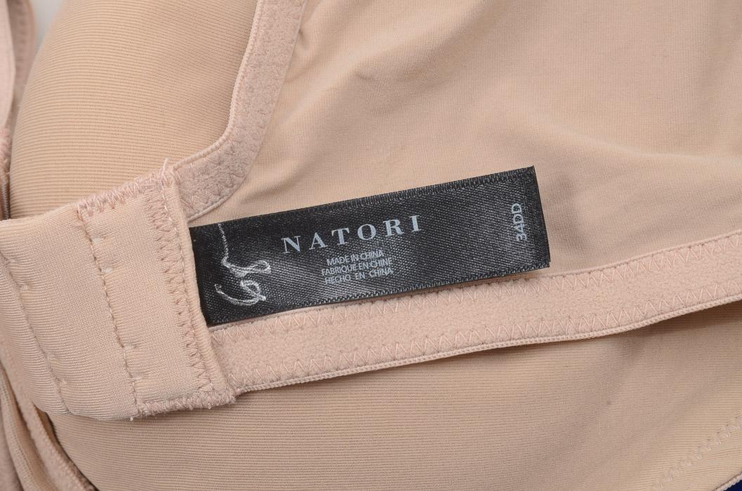 6c8032477fe99 Natori Maternity Grace 749091 cafe 34 DD wirefree contour nursing bra NEW  $68