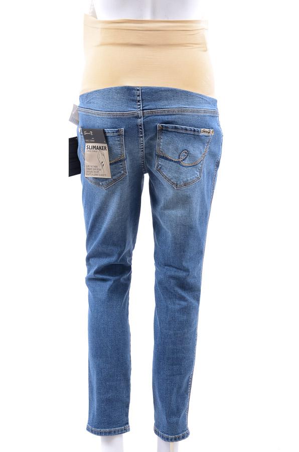 ec557fca93080 Seven7 Maternity Kingman blue 8 M denim ankle skinny cropped jean pant NEW  $89