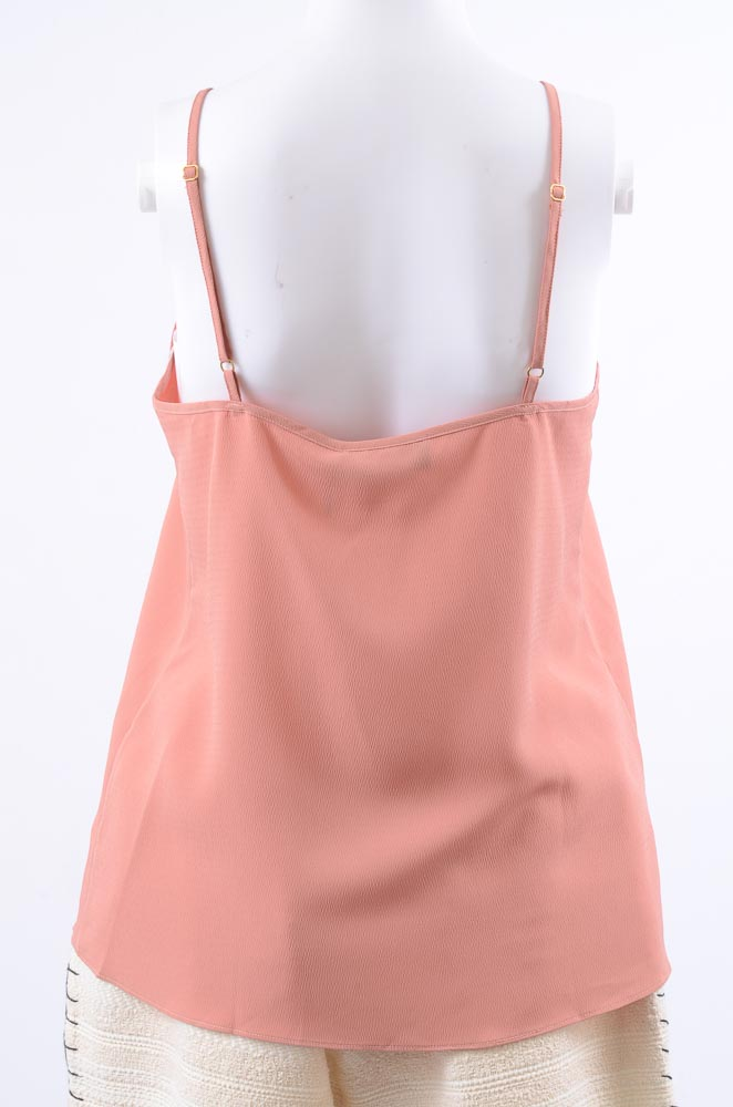 Hatch-Maternity-The-Lucy-sheer-ruched-pleated-crepe-camisole-tank-top-NEW-78 thumbnail 11