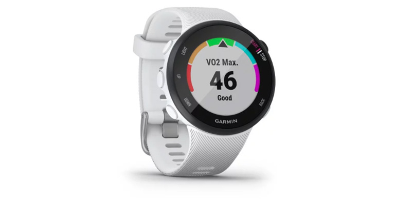Garmin Forerunner 45S - Color: White, White, large, image 4