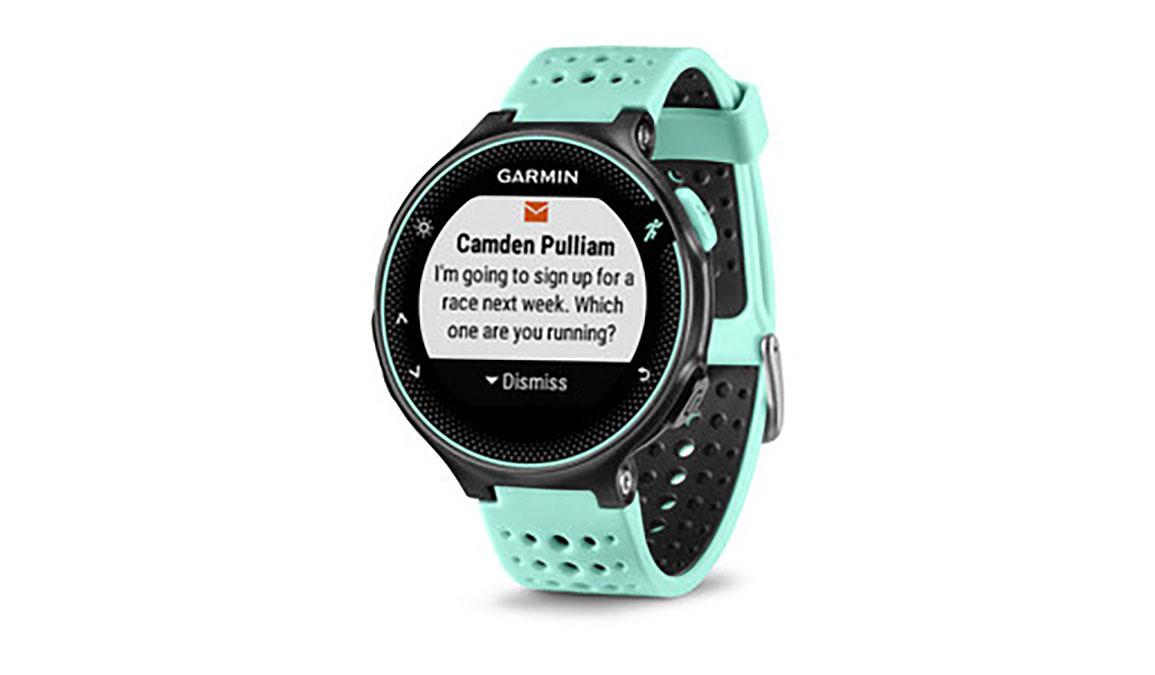 Garmin Forerunner 235 Wrist HRM - Color: Frost Blue/Black - Size: One Size, Blue/Black, large, image 4