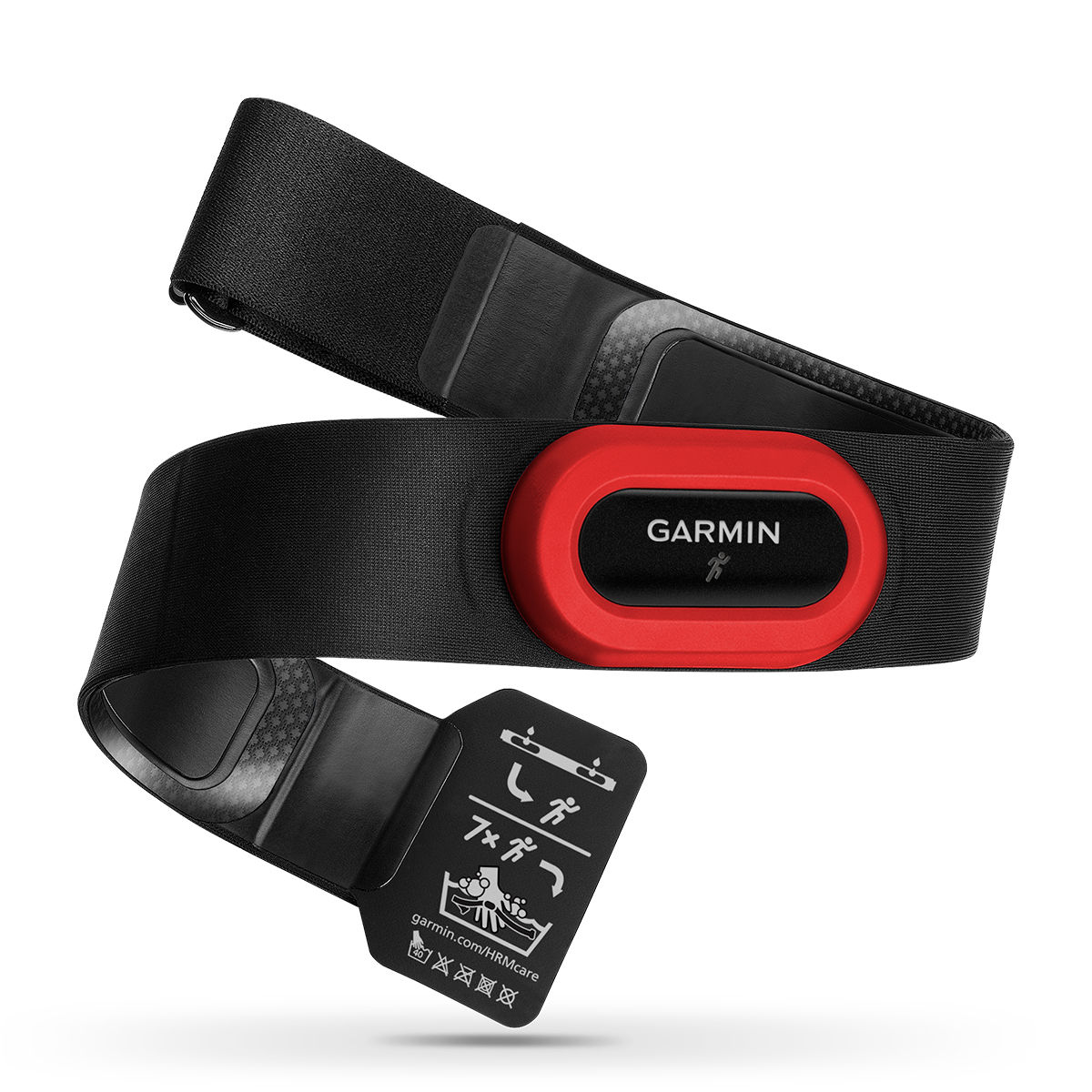 Garmin HRM4-Run Heart Rate Monitor - Color: Black/Red - Size: One Size, Black/Red, large, image 2