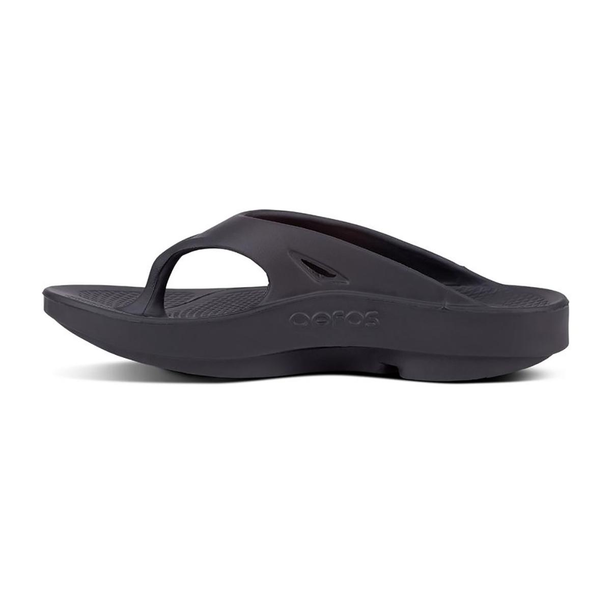 Oofos OOriginal Recovery Sandal - Color: Black - Size: M3/W5 - Width: Regular, Black, large, image 2