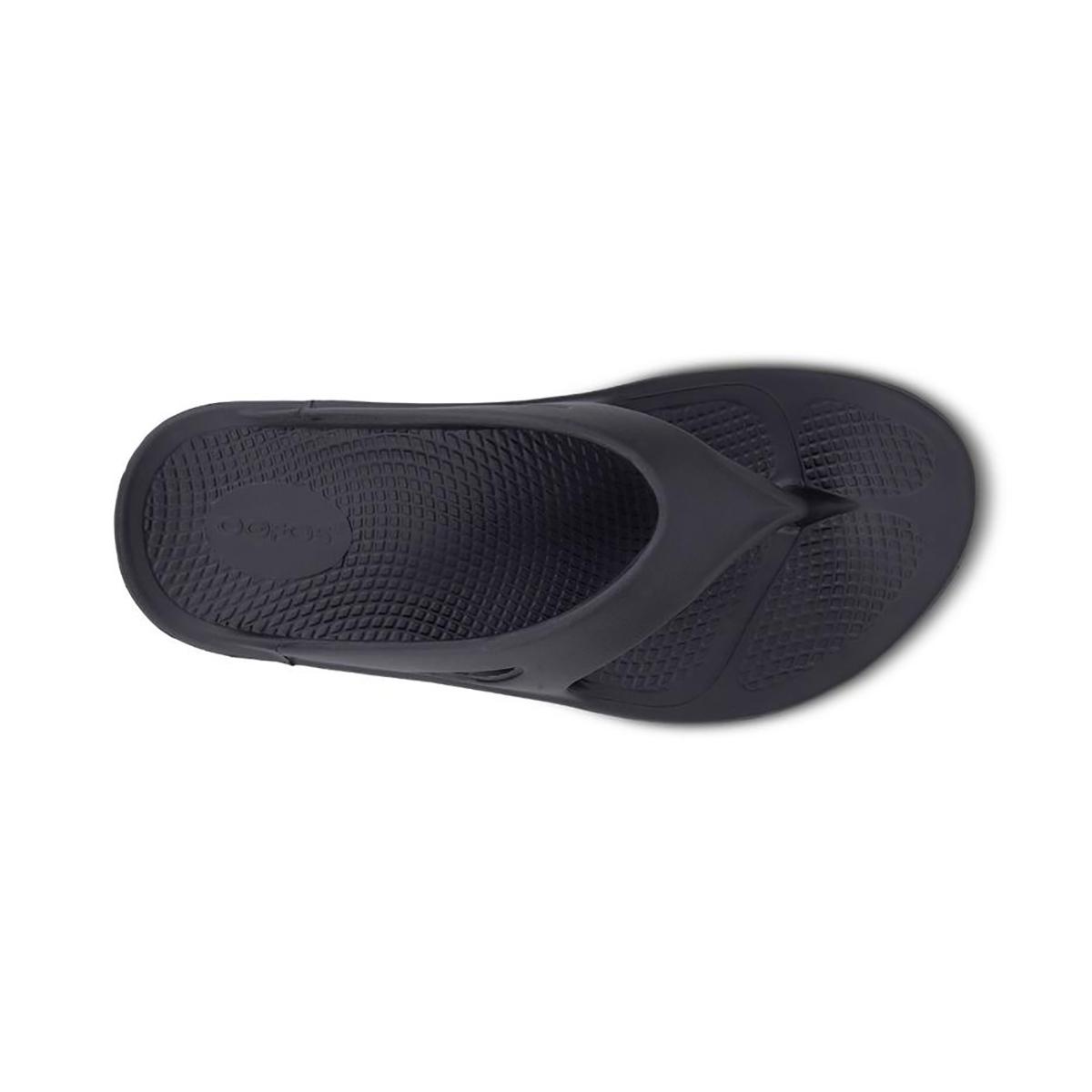 Oofos OOriginal Recovery Sandal - Color: Black - Size: M3/W5 - Width: Regular, Black, large, image 3