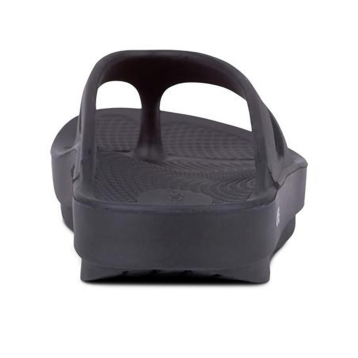 Oofos OOriginal Recovery Sandal - Color: Black - Size: M3/W5 - Width: Regular, Black, large, image 4