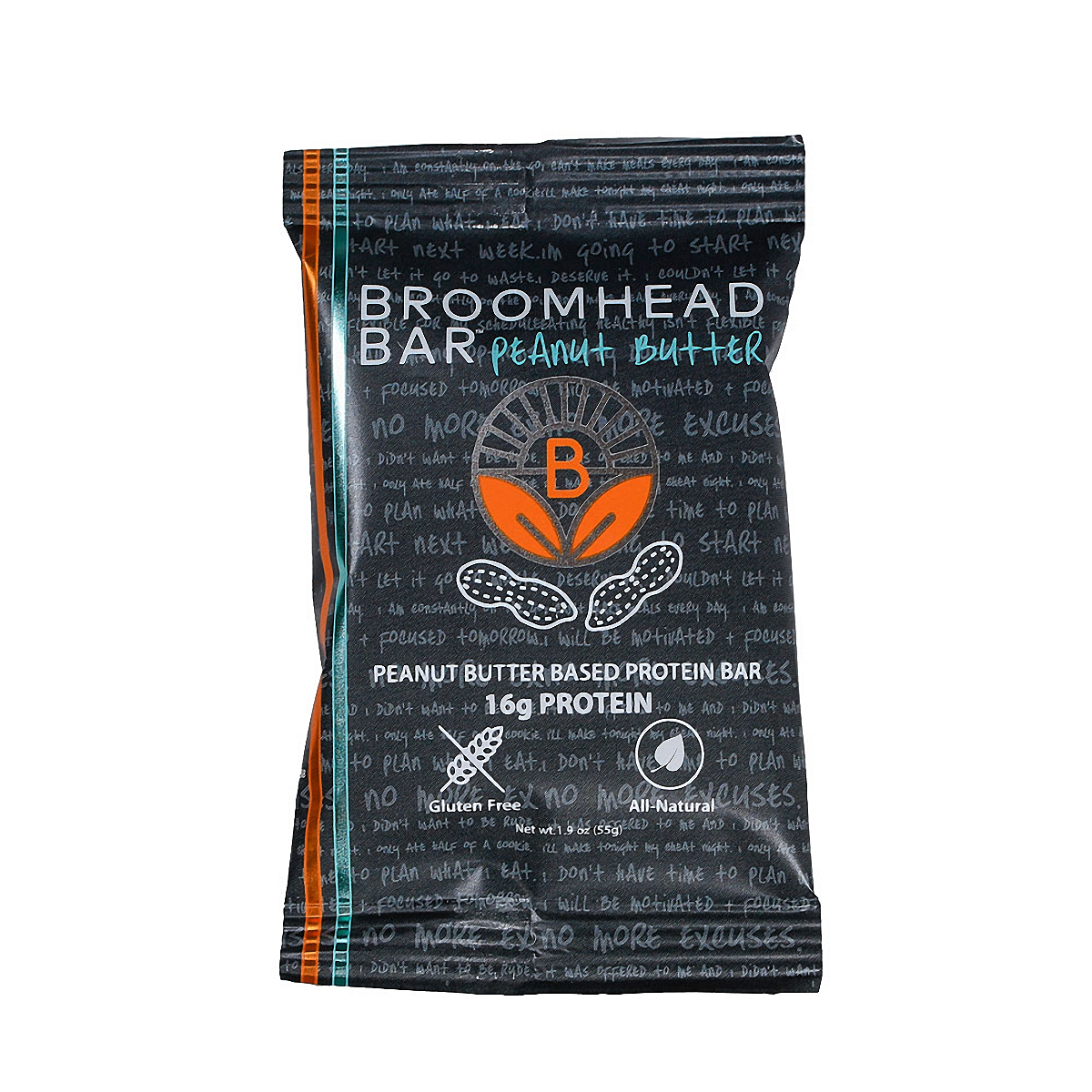 Broomhead Peanut Butter Bar - Flavor: Peanut Butter - Size: Box of 10, Peanut Butter, large, image 1