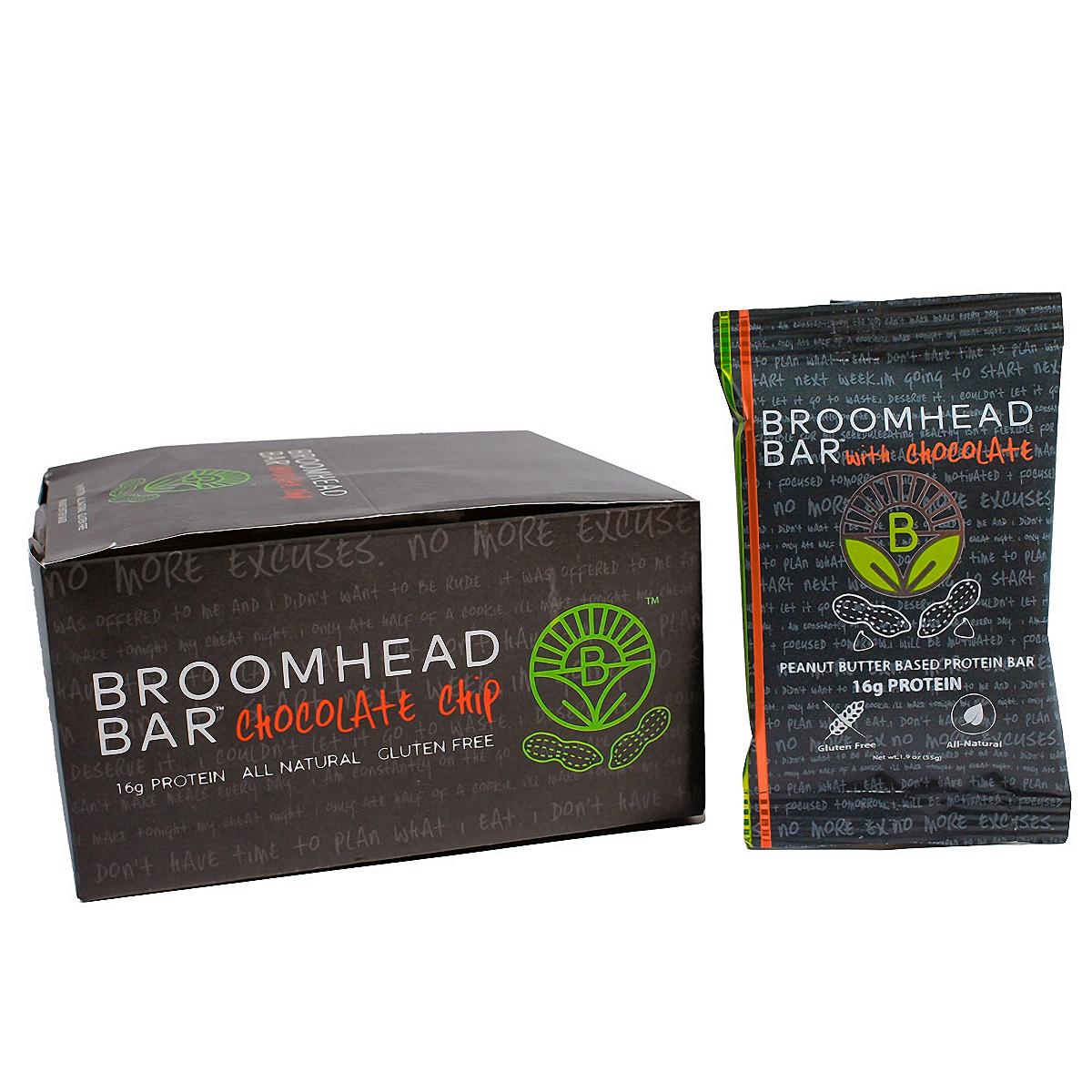 Broomhead Peanut Butter Bar - Flavor: Peanut Butter with Chocolate - Size: Box of 10, Peanut Butter with Chocolate, large, image 3